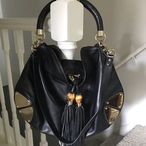 Authentic Gucci hobo barely worn